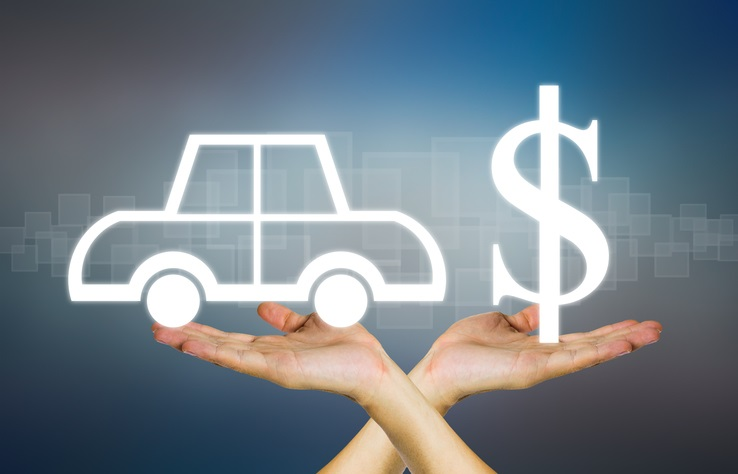 image of car and dollar sign for discounts