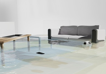 Flooded Modern Living Room